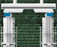 Мостовая потолочная медицинская консоль CADUCEUS CB2