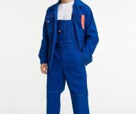 Костюм мужской летний для технической службы (куртка/полукомбинезон)