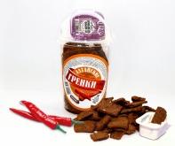 Сухарики ржано-пшеничные вкус мексиканский соус стакан 130 г + соус