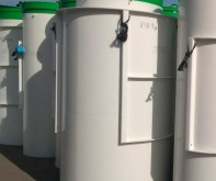Станция очистки стоков на 5 человек от производителя в Москве